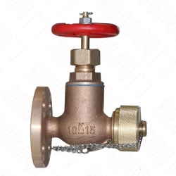 Marine daily standard Bronze Leather cage valve JIS F7334