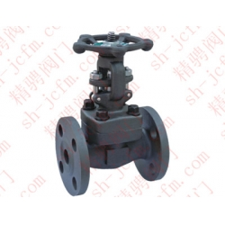 Marine DIN type German standard forged steel high temperature and high pressure gate valve -