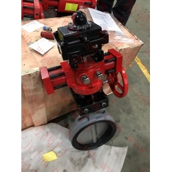 Marine hydraulic butterfly valve with signal feedback device CB/T 4333-2013