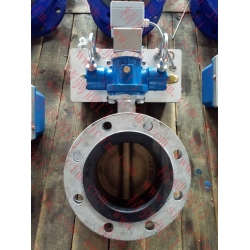 Marine side mounted open electro hydraulic drive butterfly valve CB/T4333-2013