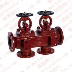 Marine flange cast iron single row double check check box R, RS GB1855-93